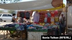 Жаңаөзен базары. 1 тамыз 2012 жыл.