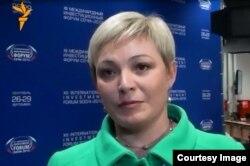 Исполняющая обязанности губернатора Мурманской области Марина Ковтун