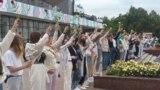 "Belarus —""Solidarity chain"" in Homiel (Gomel), 12aug2020"
