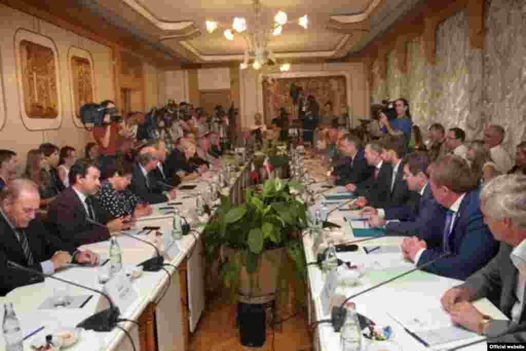 Зустріч в Державній Раді Республіки Крим