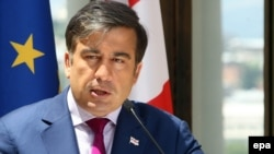 "Georgian President Mikheil Saakashvili has said that the new constitution ""will not be tailored on personalities."""