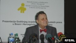 Srđan Dizdarević na prezentaciji izvještaja, Foto: Marija Arnautović
