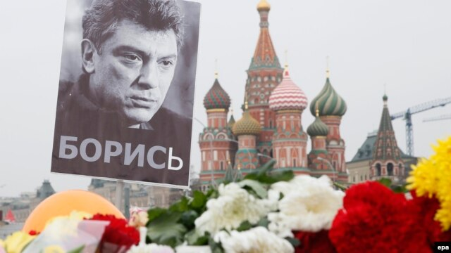 Boris Nemtsov was shot dead while walking near the Kremlin in February.