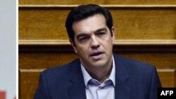 СИРИЗА коалициясынын башчысы Алексис Ципрас.