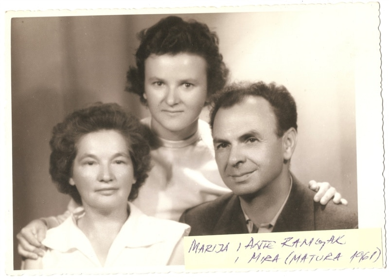 Marija i Ante Ramljak sa Mirom