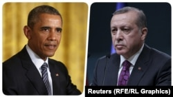 U.S. President Barack Obama (left) and Turkish President Recep Tayyip Erdogan met in Hangzhou, China.