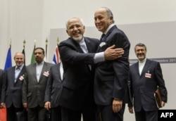 Иран ядролық келіссөздеріне қатысушылар. Женева, 24 қараша 2013 жыл. (Көрнекі сурет)