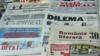 """""""Un oligarh acuzat de corupție"""" vs. """"un comedian într-un rol de populist cu o atitudine neclară față de Crimeea"""" (Armand Goșu/ Revista 22)"""