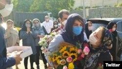 کتایون افرازه اول تیرماه بازداشت شده بود.