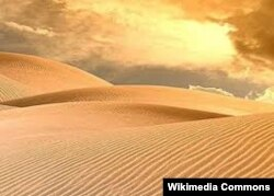 Сахара - дүйнөдөгү эң чоң чөл.