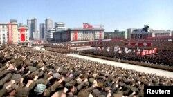 Parada u Pjongjangu