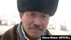 Кумар Молджигитов, бывший шахтер. Караганда, 11 января 2012 года.