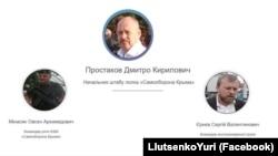 Лидеры крымской «самообороны»