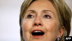 """U.S. Secretary of State Hillary Clinton: """"We understand that won't be easy."""""""