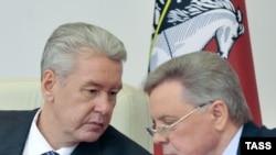 Сергей Собянин и Борис Громов