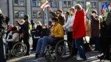 У Менску прайшоў Марш людзей з інваліднасьцю