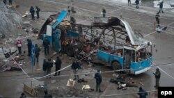 Результат вибуху у Волгограді 30 грудня