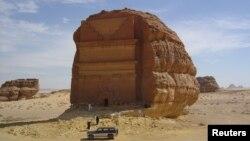 Saud Arabystany. Kasr al-Farid taryhy ýadygärligi