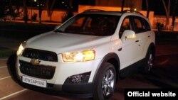 Автомобиль Chevrolet Captiva, произведенный на заводе GM Uzbekistan.