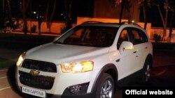 O'zbekistonda chiqayotgan yangi avtomobil - Chevrolet Captiva.