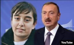Президент Азербайджана Ильхам Алиев и его сын Гейдар.