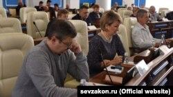 Підконтрольний Росії парламент Севастополя, архівне фото