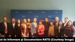 O delegație a formatorilor de opinie la Bruxelles