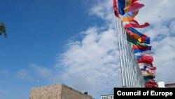 Avropa Şurasına üzv dövlətlərin bayraqları, 9 may 2010