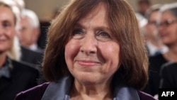 None of Svetlana Alexievich's work has been published in Belarus since President Alyaksandr Lukashenka came to power in 1994.