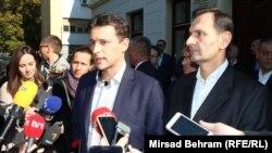 Iznova stara priča o obespravljenosti Hrvata u BiH: Božo Petrov i Miro Kovač u Stocu