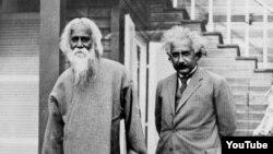 Albert Einstein və Rabindranath Tagore