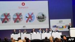 Спільна слідча група представляє проміжні результати розслідування, Нівегейн, Нідерланди, 28 вересня 2016 року