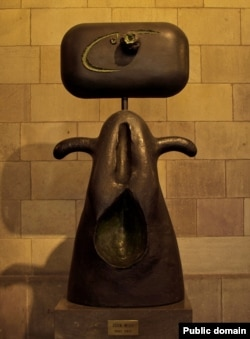 Joan Miro, Mujer, Primăria din Barcelona