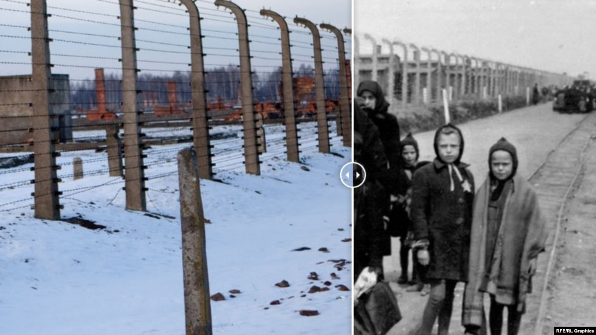 Концлагерь «Аушвиц» в фотографиях: тогда и теперь