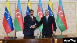 Prezident İlham Əliyev və Prezident Nikolas Maduro