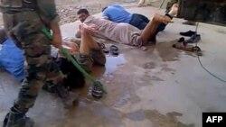 تصویری از شکنجه در سوریه.