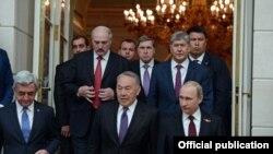 ЕАЭБга кирген мамлекеттеринин президенттери