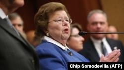 Сенаторката Барбара Микулски.
