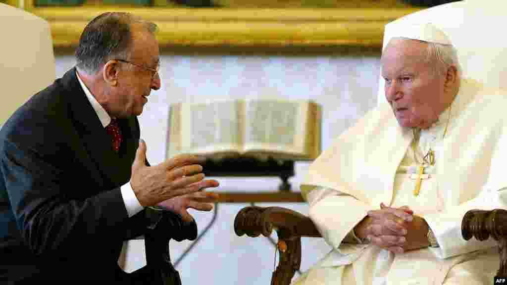 Audiență la Papa Ioan Paul al Doilea, Vatican - 2004