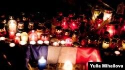 Solidarnost sa Francuskom u Moldaviji