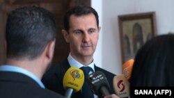 Presidenti sirian, Bashar al-Assad, foto nga arkivi.