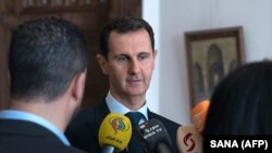 Bashar al-Assad, imagine de arhivă