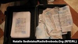 Сколько бумаги Януковича пробыли в воде, неизвестно