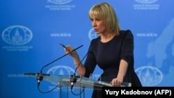 ՌԴ ԱԳՆ խոսնակ Մարիա Զախարովա, արխիվ