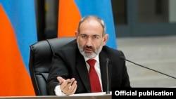 Премьер-министр Армении Никол Пашинян во время пресс-конференции, Ванадзор, 16 сентября 2019 г․