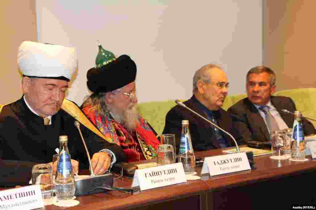 Халыкара конференция барышында ике мөфти һәм ике президент