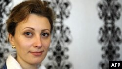 Ukraine-born Alina Treiger, the first woman ordained as a rabbi since World War II.