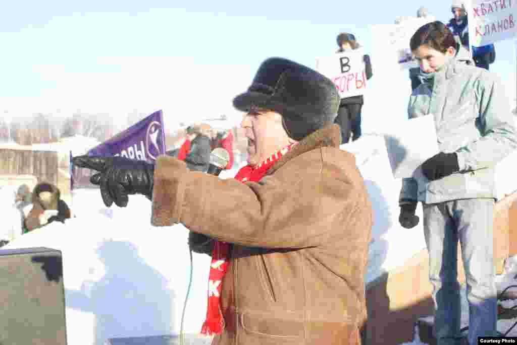 """""""Гадел сайлаулар өчен"""", Казан, 4 февраль 2012.Шамил Абдюшев фотолары"""