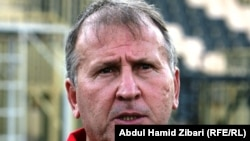 البرازيلي زيكو، مدرب المنتخب العراقي بكرة القدم
