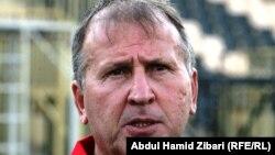 البرازيلي زيكو مدرب المنتخب العراقي